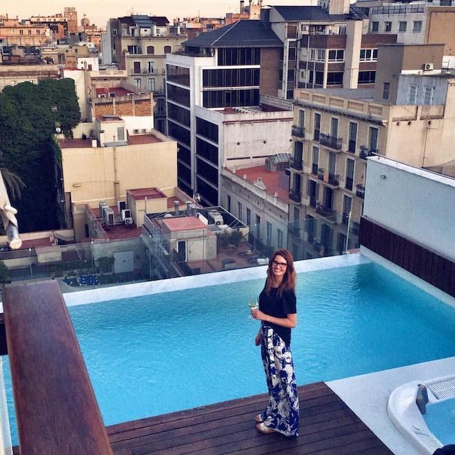semana de las terrazas de los hoteles de barcelona s