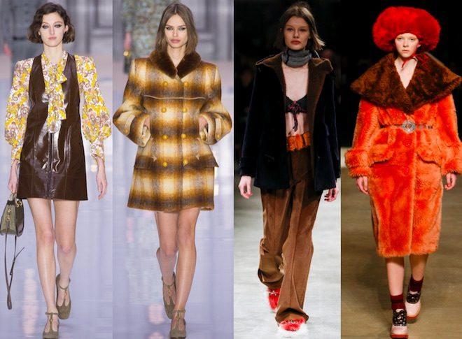 COLORES de moda invierno 2018 marron