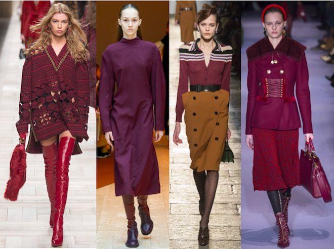 COLORES de moda oi 2017 18 rouge noir