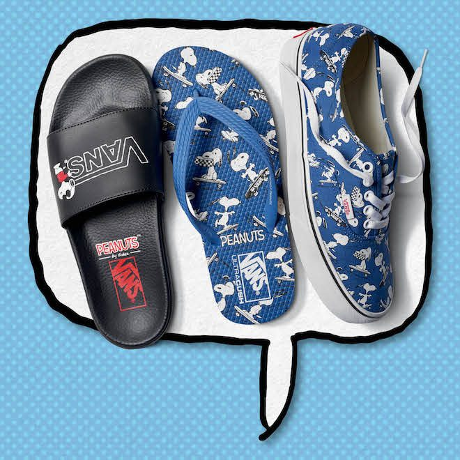 Vans x Peanuts authentic azul