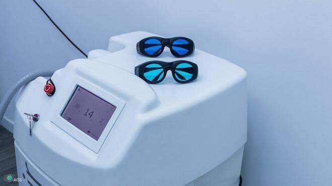 centro ideal laser de diodo