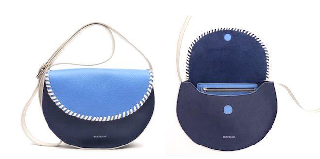 pertegaz bolso bandolera azul