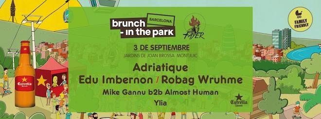 brunch in the park eventos barcelona
