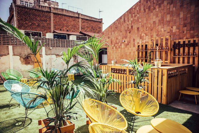 casa corona barcelona terraza
