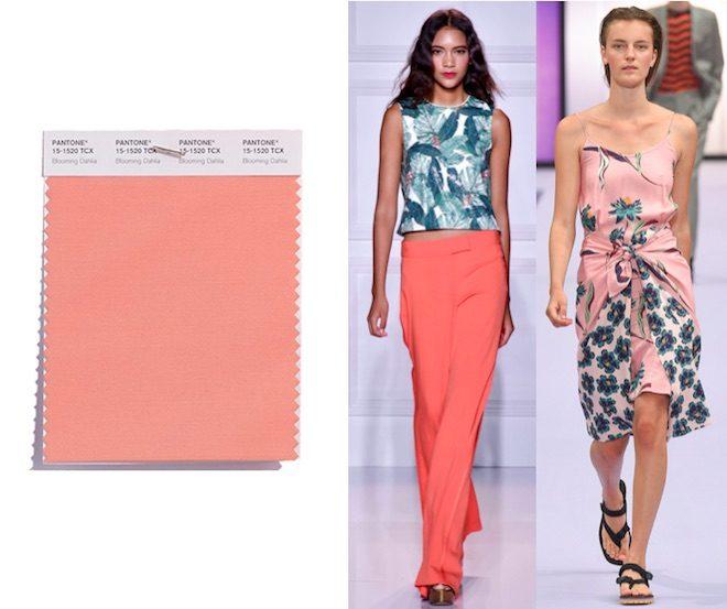 colores de moda pv18 rosa