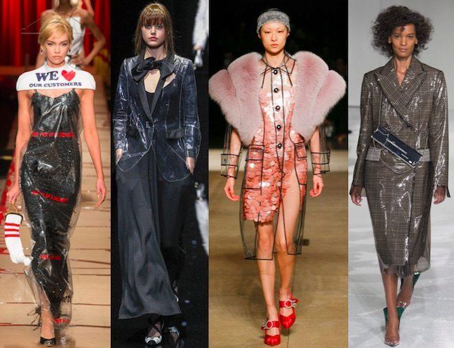 tendencia moda otoño invierno 17 18 plastic