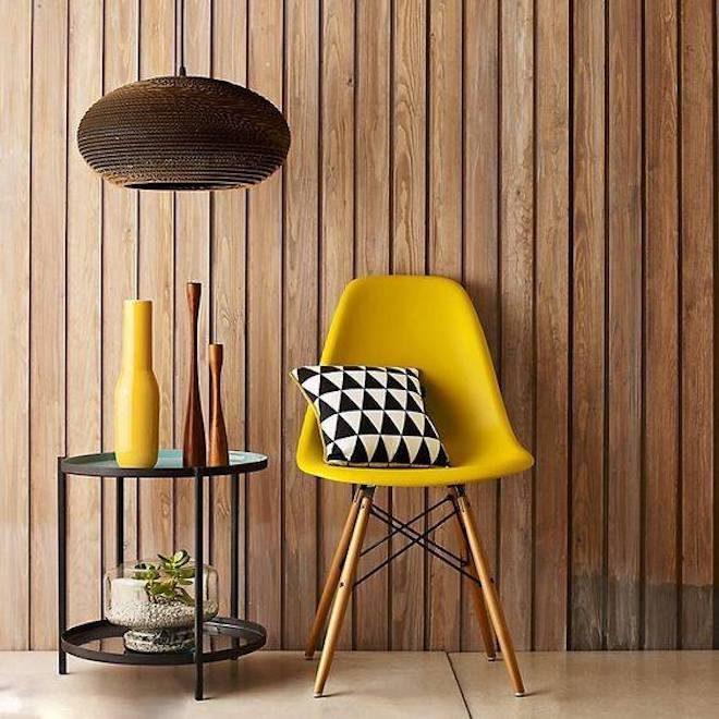 sklum decoracion silla amarilla