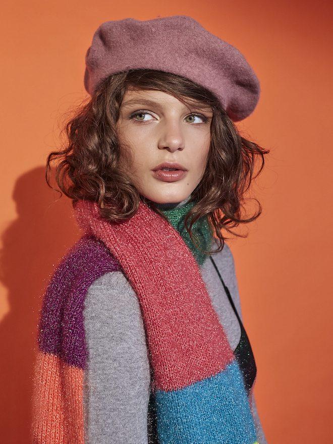 boinas rosa moda invierno 18