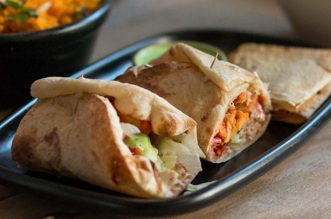 rolls surya indian street food