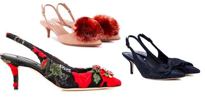 zapatos de moda invierno 2018 slingback