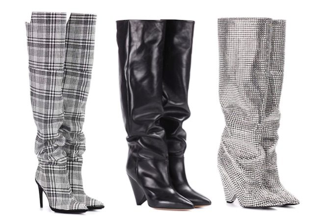 zapatos de moda invierno 2018 slouchy boots