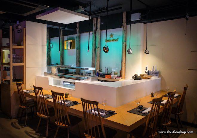 barra sushi shibui barcelona