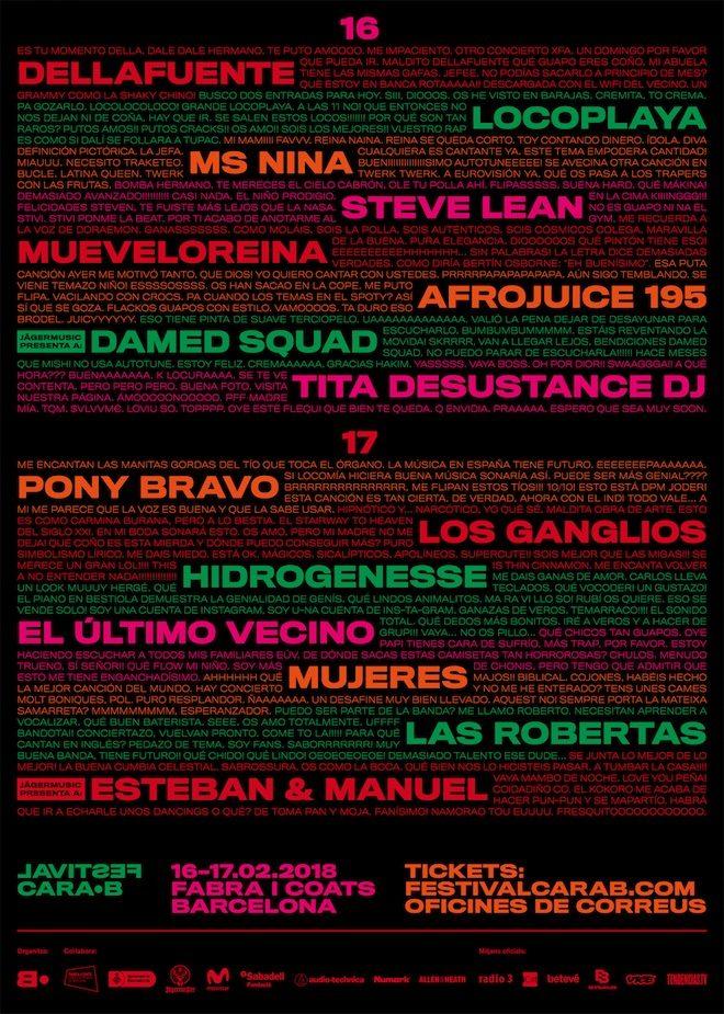 festival cara b barcelona