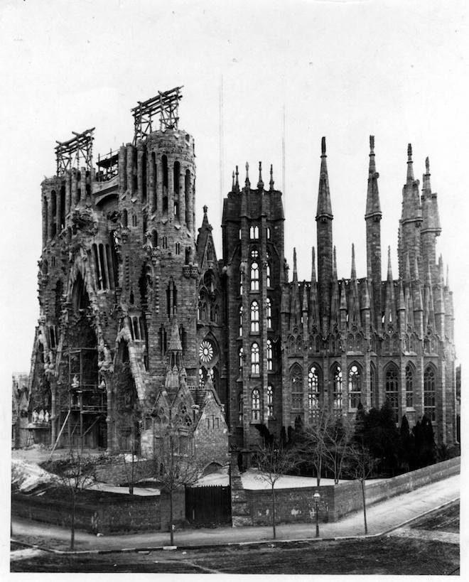 sagrada familia 1908
