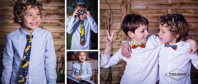 corbata para niño