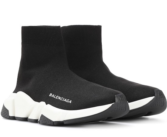 balenciaga speed trainer negras