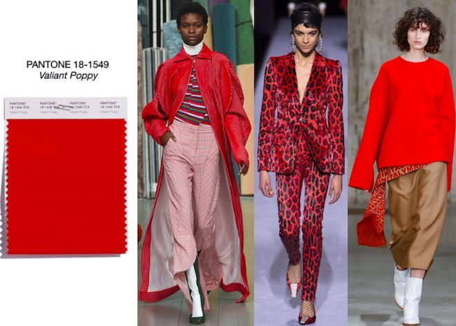 colores de moda oi 2018 valiant poppy