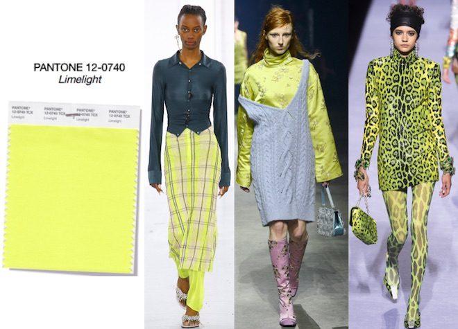 colores de moda otono invierno 2018 limelight