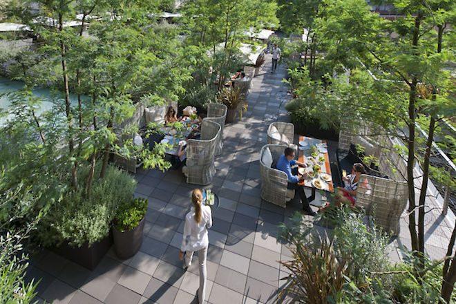 jardin secreto mandarin barcelona