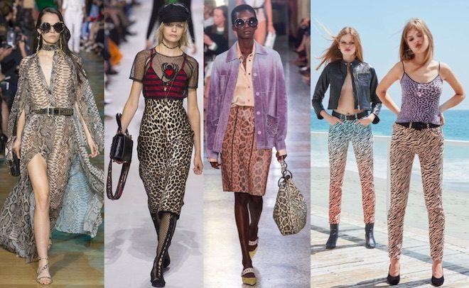 tendencias moda pv18 animalier