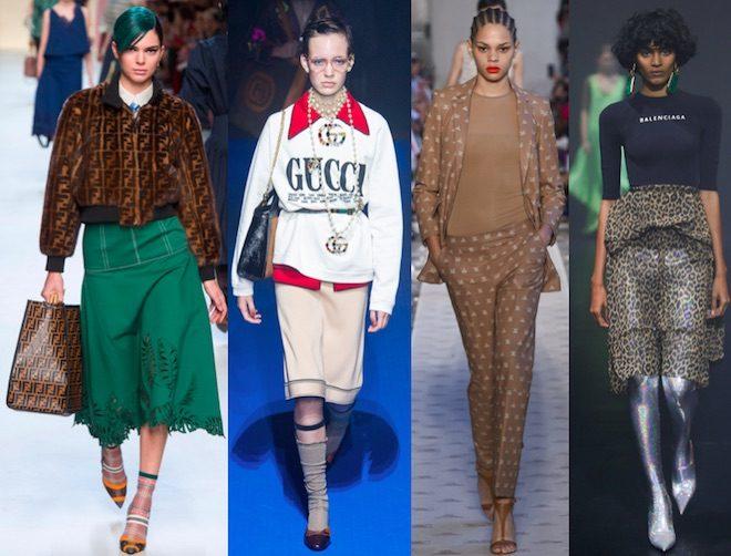 tendencias moda pv18 logomania
