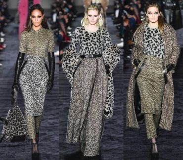 max mara fw18 animal print