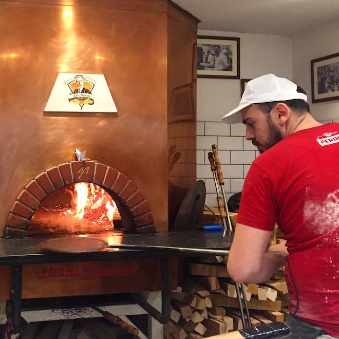 pizzeria barcelona da michele horno