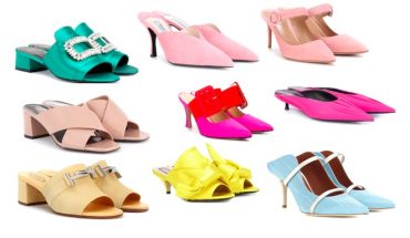 zapatos de moda pv18 mules