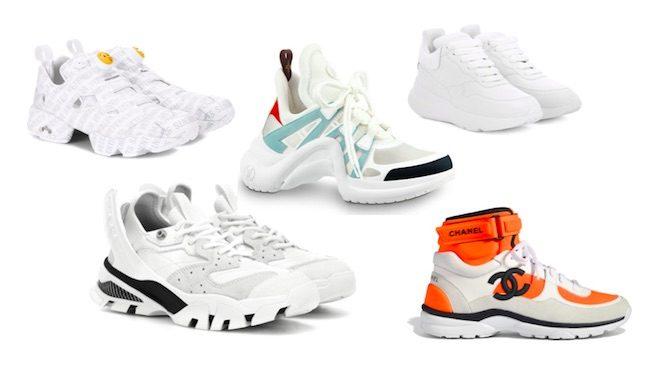 zapatos de moda primavera verano 2018 sneakers