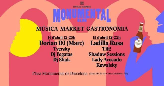 monumental club street food barcelona