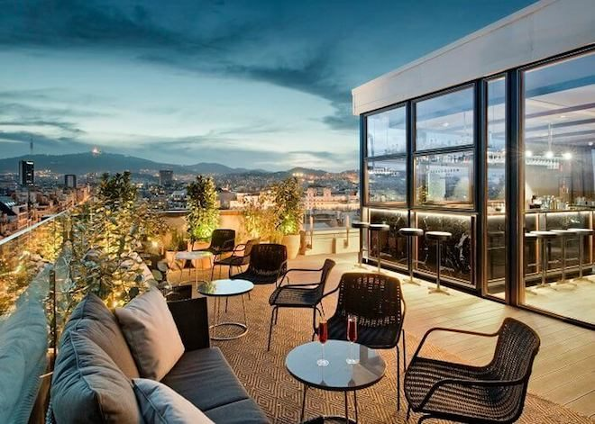 Semana De Las Terrazas De Los Hoteles De Barcelona Bcn
