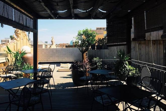 ROOFTOP BAR BARCELONA TERRAT DEL DO