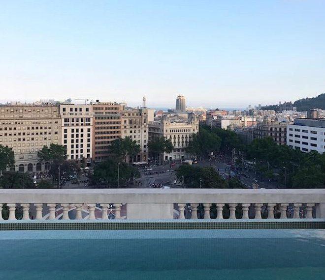SKYBAR iberostar rooftop bar barcelona