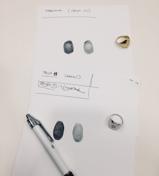 customima huella dactilar
