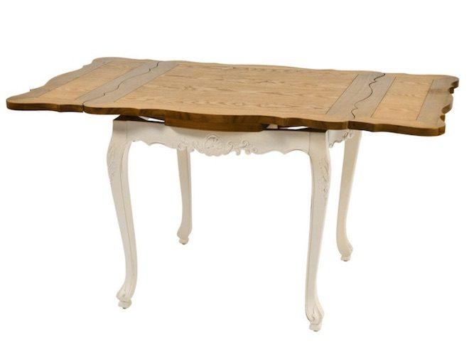 decoracion piso pequeno mesa extensible