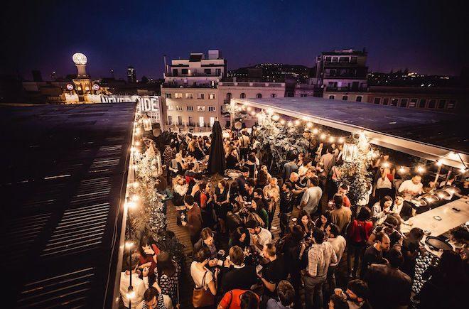rooftop bar barcelona Puliter