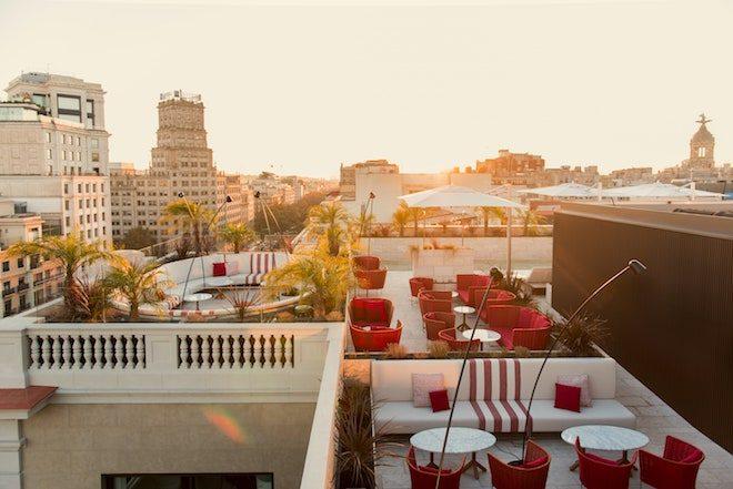 rooftop bar barcelona terraza Azimuth