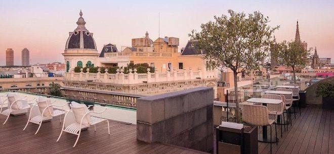 rooftop bars barcelona ohala