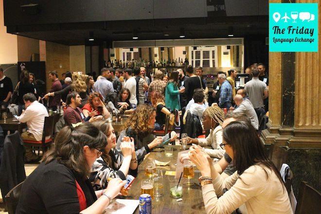 conocer gente en barcelona intercambio idiomas