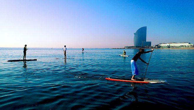 paddle surf barcelona
