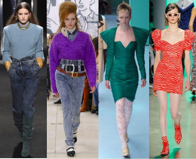 moda invierno 2018 tendencia 80