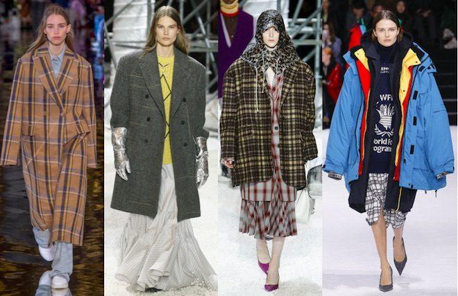 moda invierno 2018 tendencia oversized