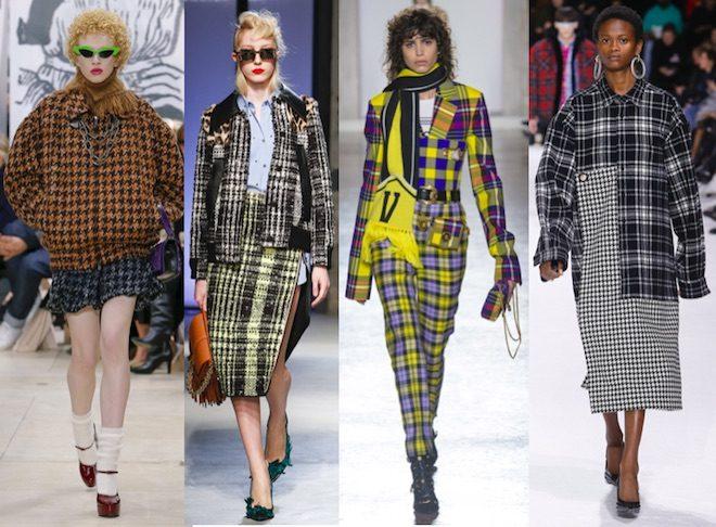 moda invierno 2018 tendencia tartan