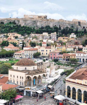 Plaza Monastiraki viaje a atenas
