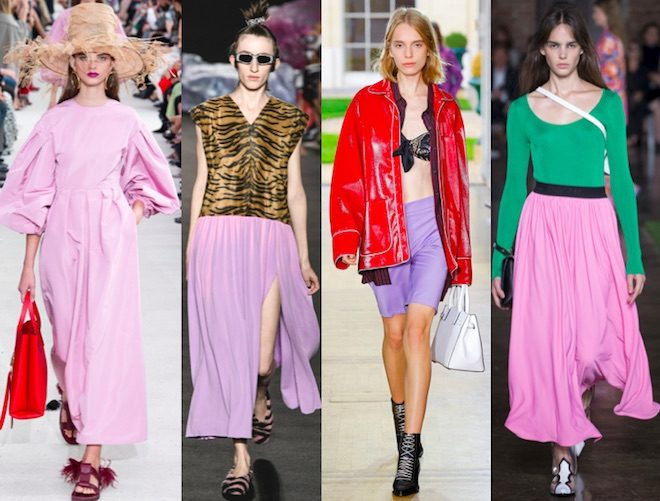 colores de moda verano 2019 Sweet Lilac