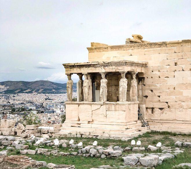 viaje a atenas acropolis