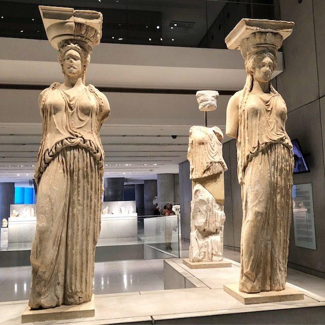 viaje a atenas museo acropolis