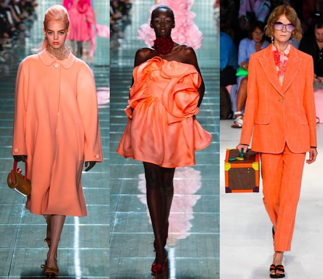 color de moda 2019 living coral