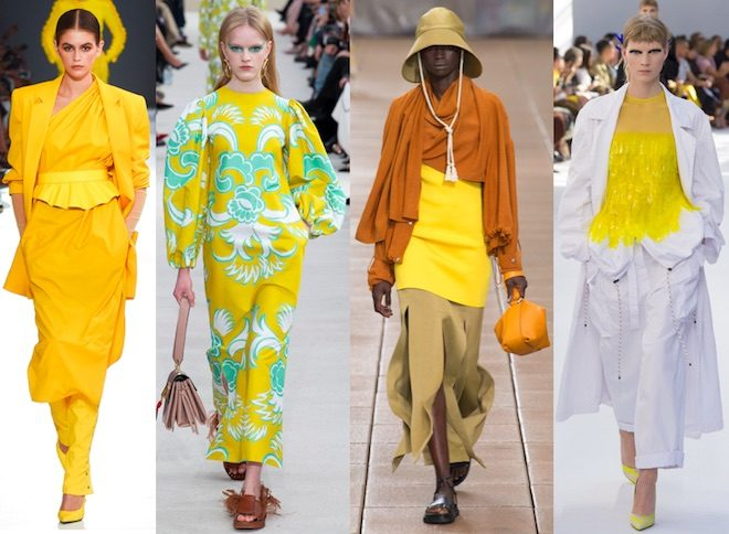 colores de moda verano 2019 amarillo aspen gold