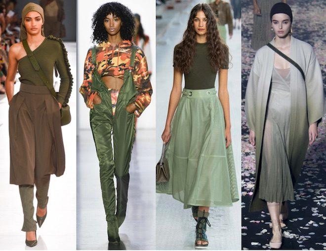colores de moda verano 2019 terrarium moss